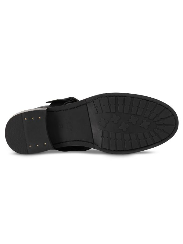 Womens Stanton Black Boot Sole