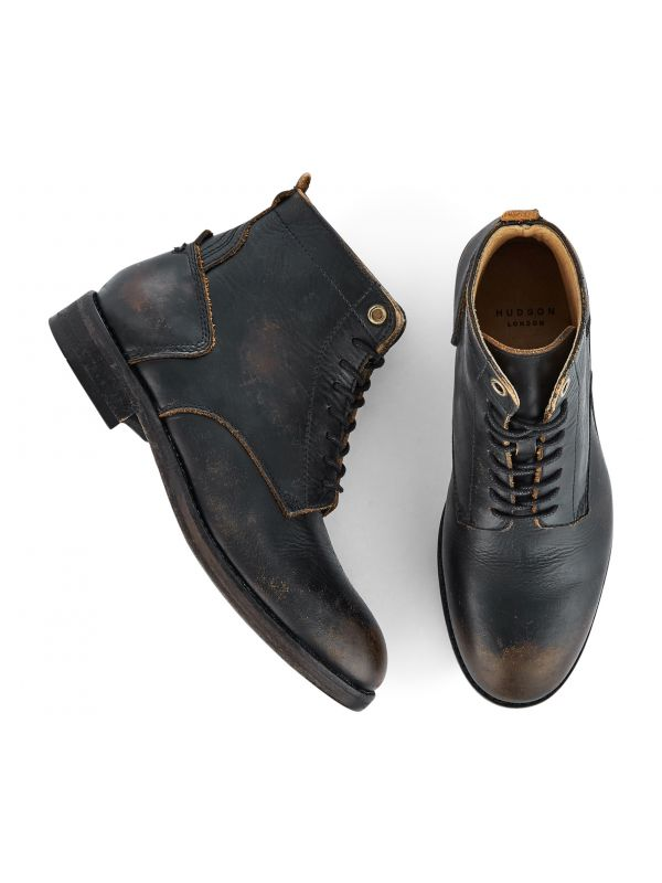Lace Up Boot Gypsum Black