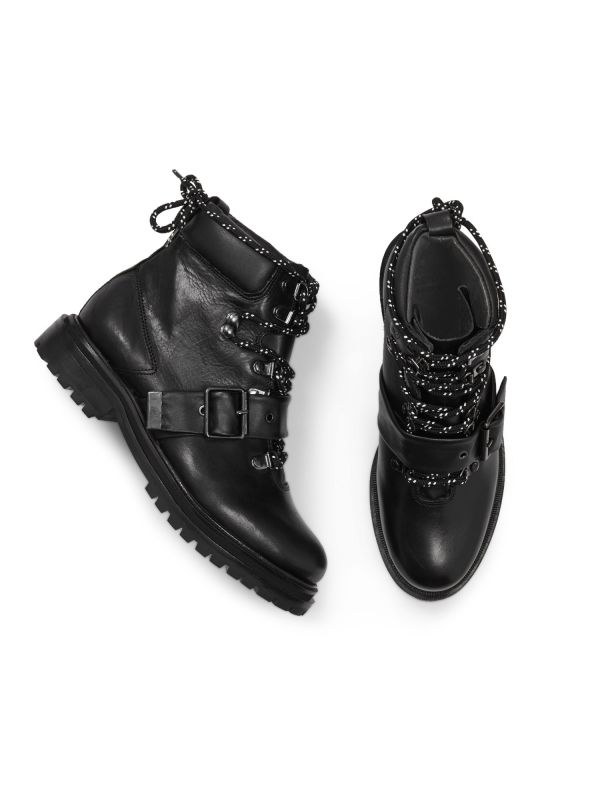 Womens Piper Black Boot Top