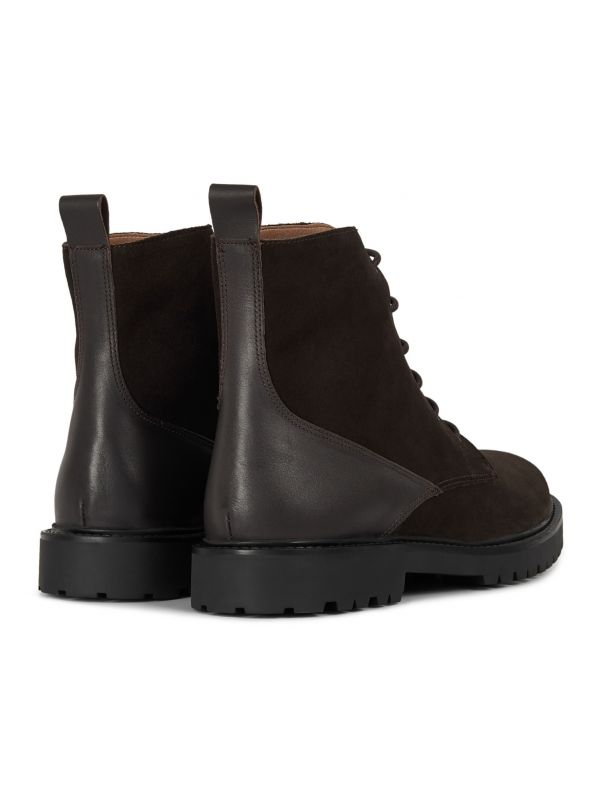 Mens Perry Suede Brown Boot Detail