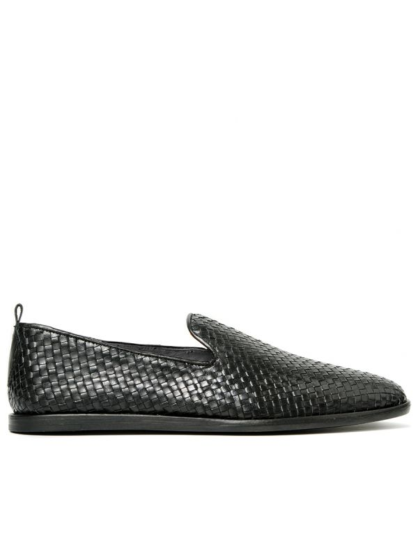 Weave Slip On Shoe Ipanema Black Side View