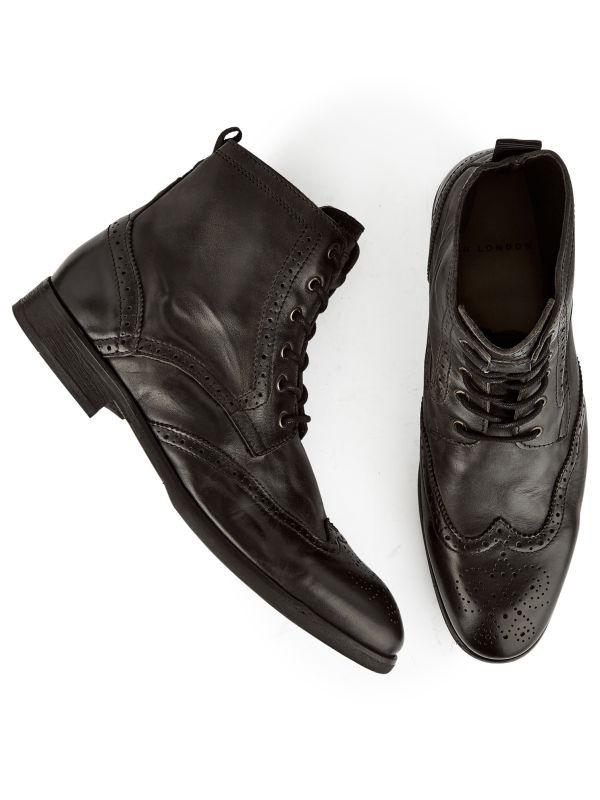Brogue Boots Simpson Black