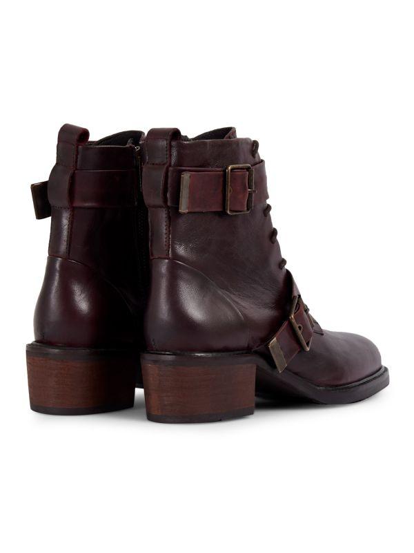 Womens Stanton Bordeaux Boot Detail