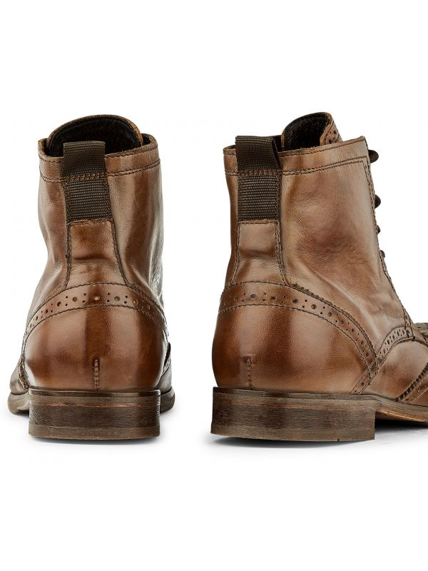 Brogue Boots Simpson Tan