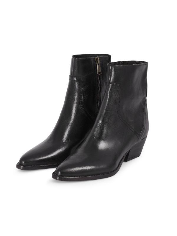 Womens Beryl Black Boot Three quarter