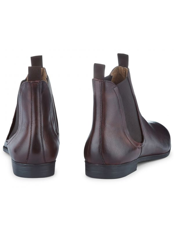 Leather Chelsea Boot Atherstone Brown