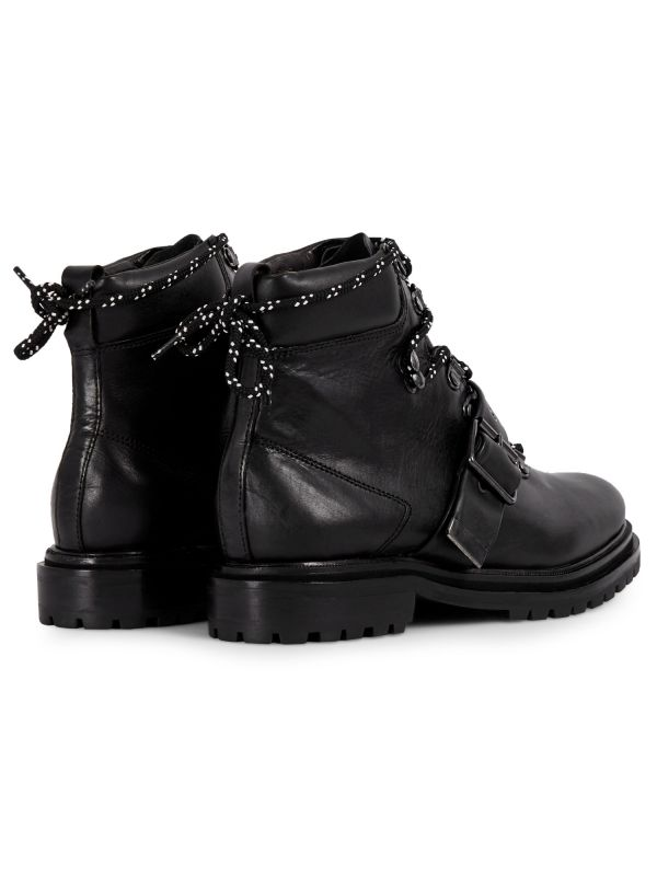 Womens Piper Black Boot Detail