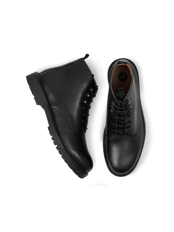 Mens Hastings Black Boot Top