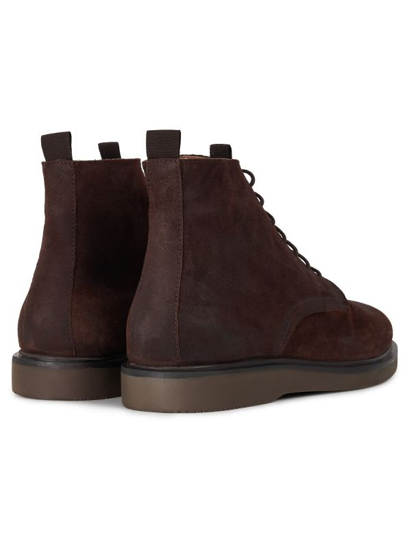 Mens Troy Suede Brown Boot Detail