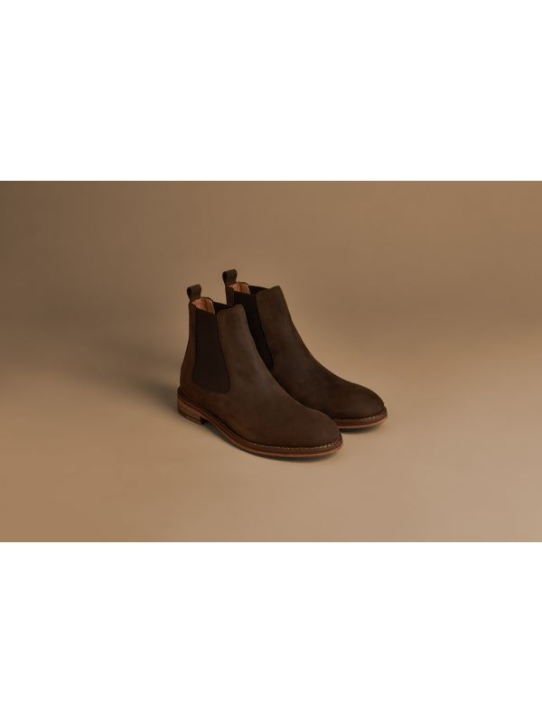 Mens Rowan Brown Chelsea Boot Lifestyle