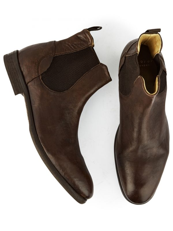 Chelsea Washed Boot Watchley Brown