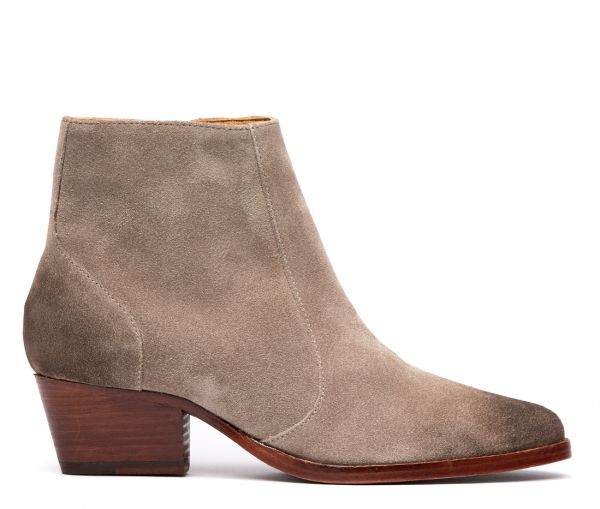 Hedemann Suede Taupe Boot
