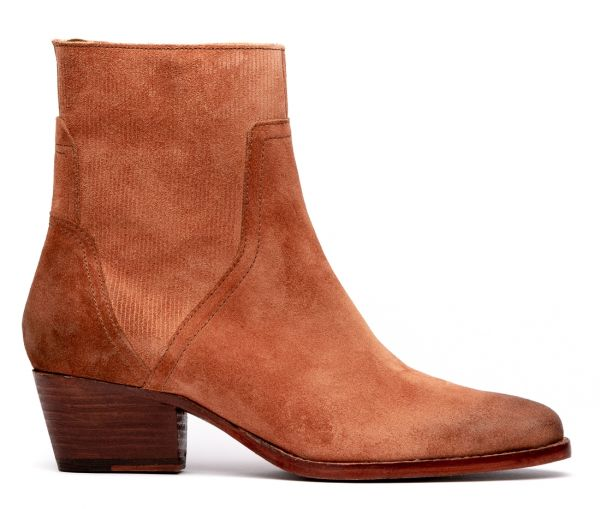 Beryl Suede Rust Boot