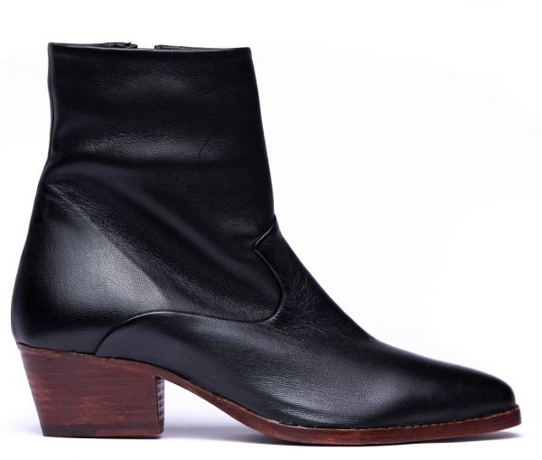 Carell Black Boot