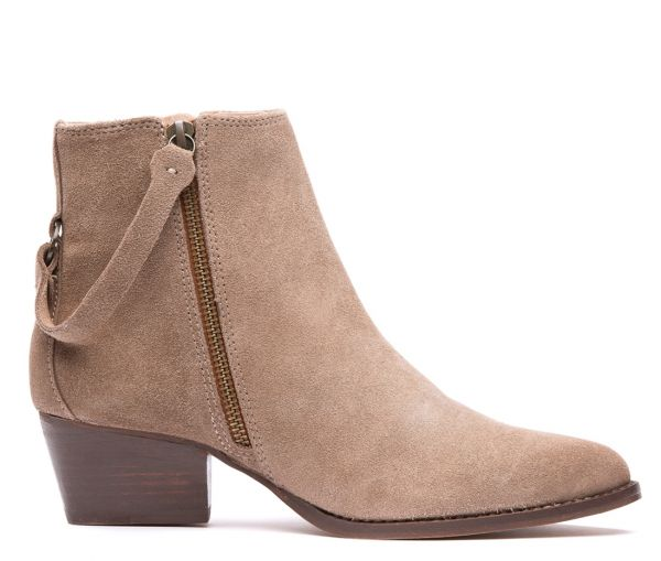 Larry Suede Taupe Boot