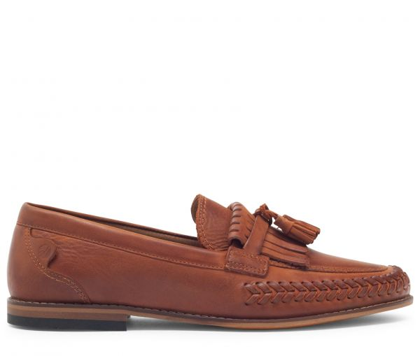Alloa Cognac Loafer