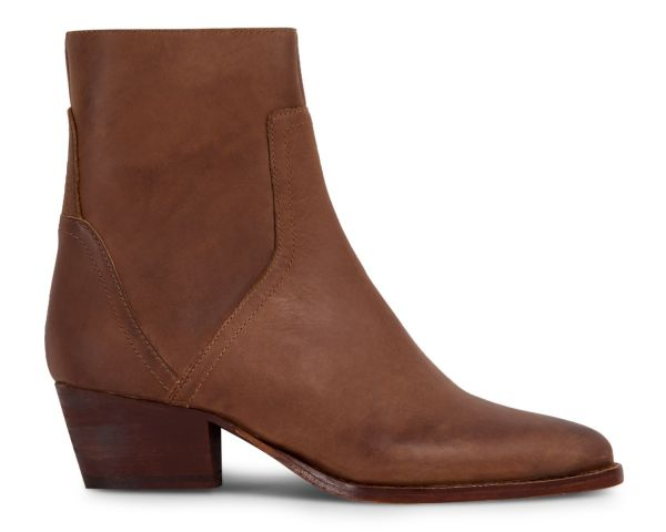 Womens Beryl Tan Boot Side
