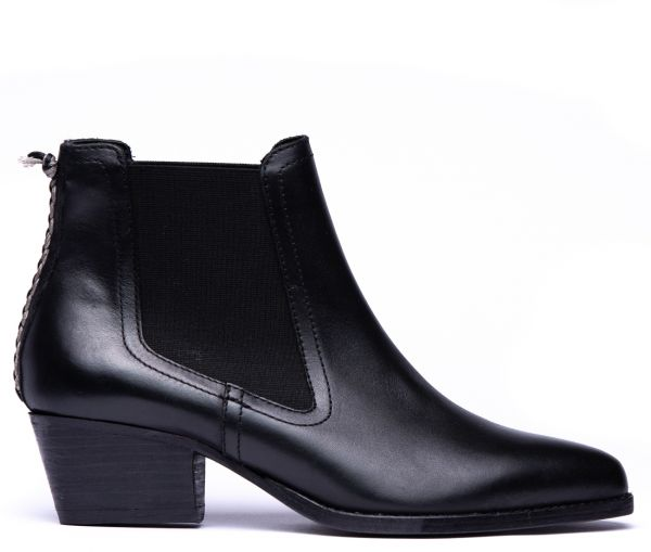 Avery Black Chelsea Boot