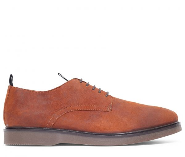 Barnstable Oiled Suede Tan Shoe