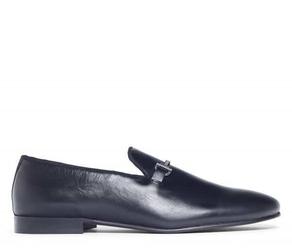 Bolton Black Snaffle Loafer