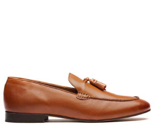 Bolton Tan Loafer
