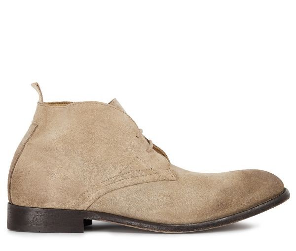 Mens Bryson Suede Rock Chukka Boot Side