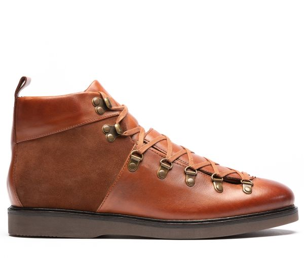 Calverston Tan Hiker Boot