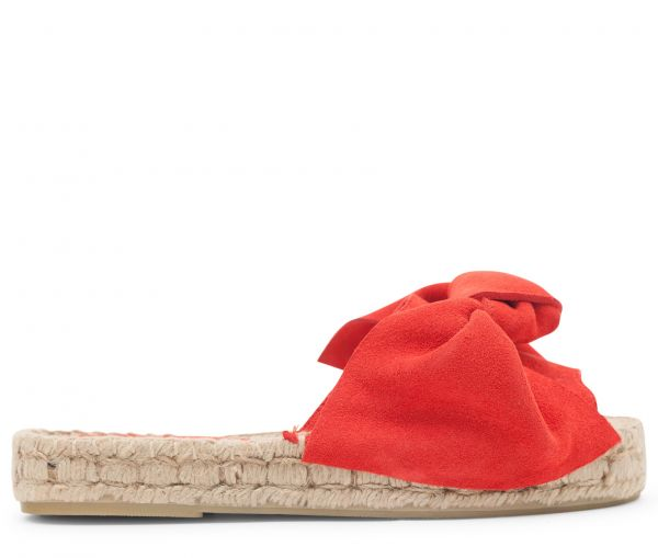 Carmen Suede Red Slip On
