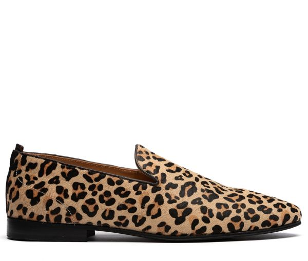 Cato Pony Leopard Slip On