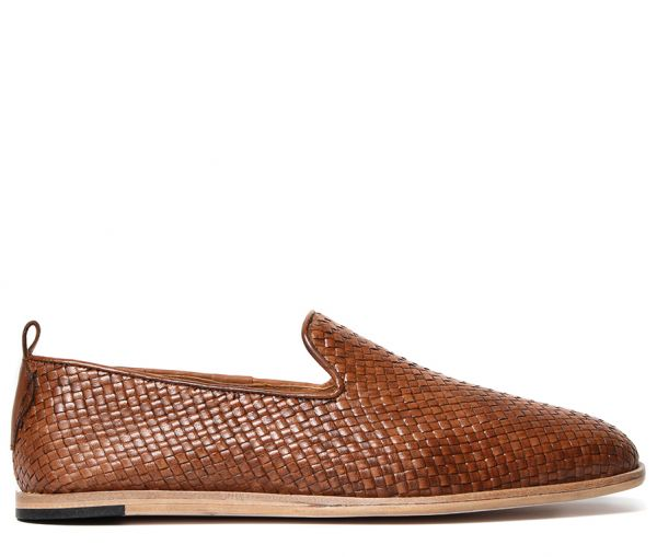 Weave Slip On Shoe Ipanema Tan Side View