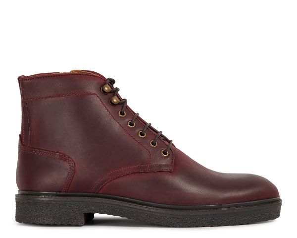 Mens Jennings Bordeaux Boot Side