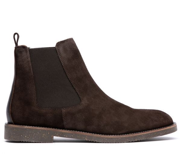 Karter Suede Brown Chelsea Boot
