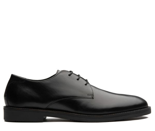 Karter Black Derby Shoe