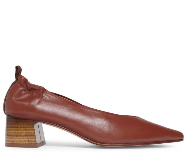 Nico Rust Heeled Shoe