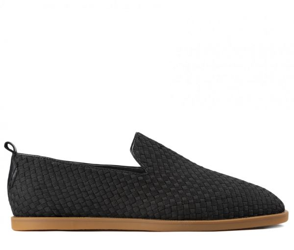 Parker Weave Black Slip On Loafer