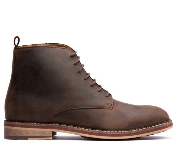 Rowan Brown Tanker Boot