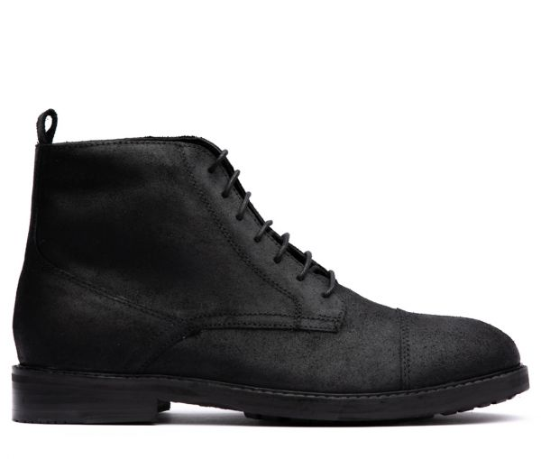 Rowan Black Toe Cap Boot