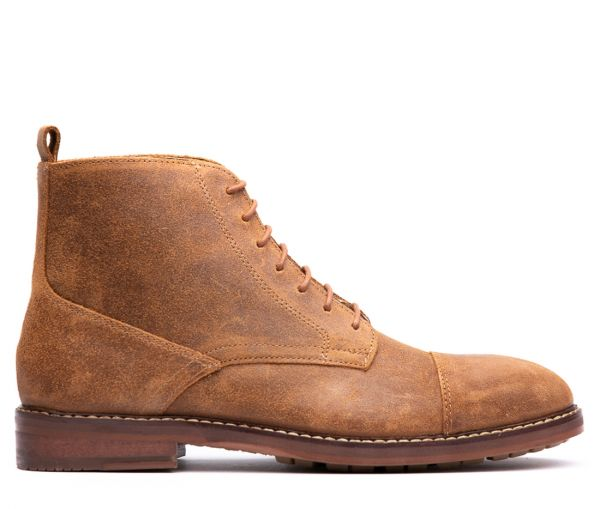 Rowan Tan Toe Cap Boot
