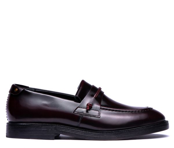 Stoke Bordeaux Loafer