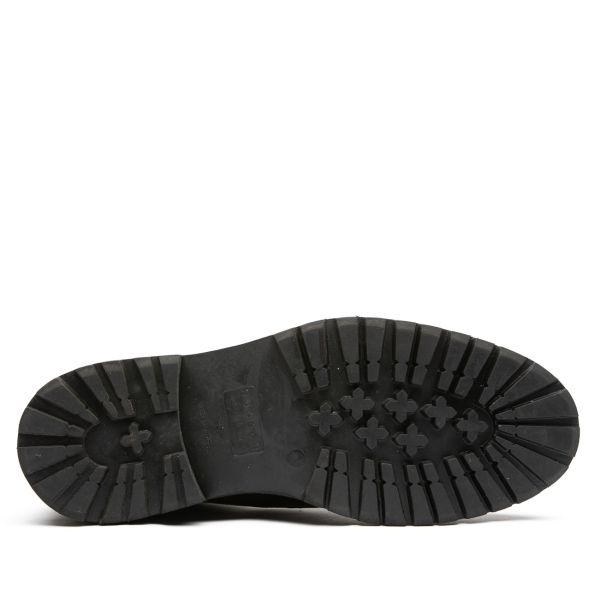 Hudson London Mens Howden Black Shearling Boot Sole