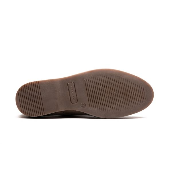 Mens Barnstable Suede Taupe Shoe Sole