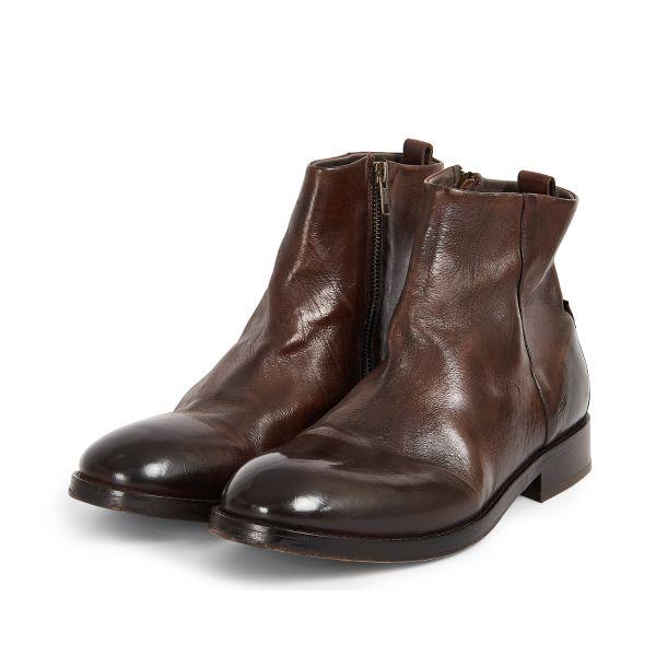 Hudson London Mens Fryatt Brown Boot Three Quarter