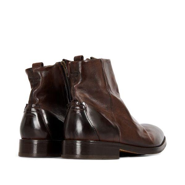 Hudson London Mens Fryatt Brown Boot Detail