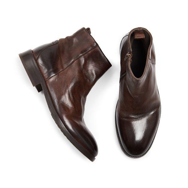 Hudson London Mens Fryatt Brown Boot Top