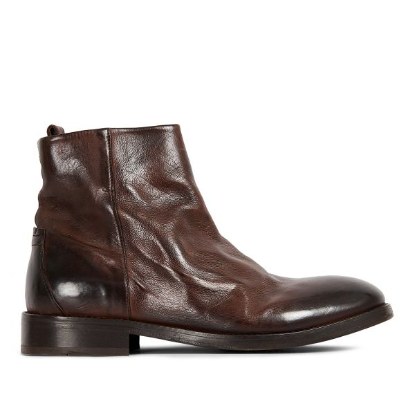 Hudson London Mens Fryatt Brown Boot Side