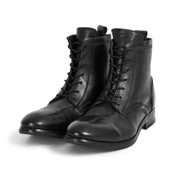 Hudson London Swathmore Black Boot Three Quarter