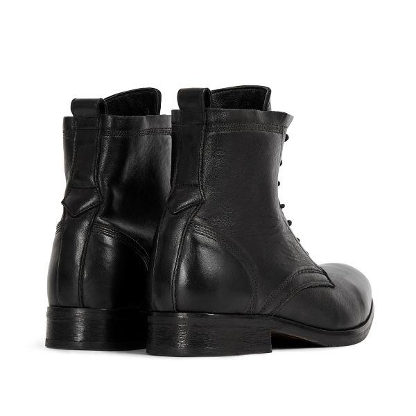 Hudson London Swathmore Black Boot Detail