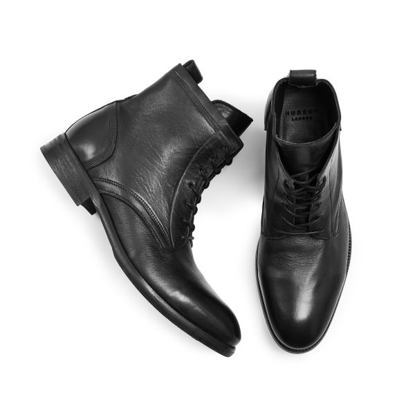 Hudson London Swathmore Black Boot Top