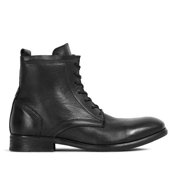 Hudson London Swathmore Black Boot Side