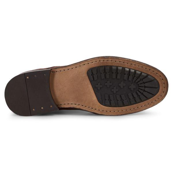 Hudson London Mens Cedar Leather Tan Lace Up Boot Sole